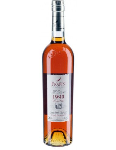 Frapin Millésime 1990 27 Years Old Cognac 01