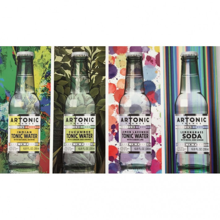 Artonic Lot Of Four Tonic Water 01