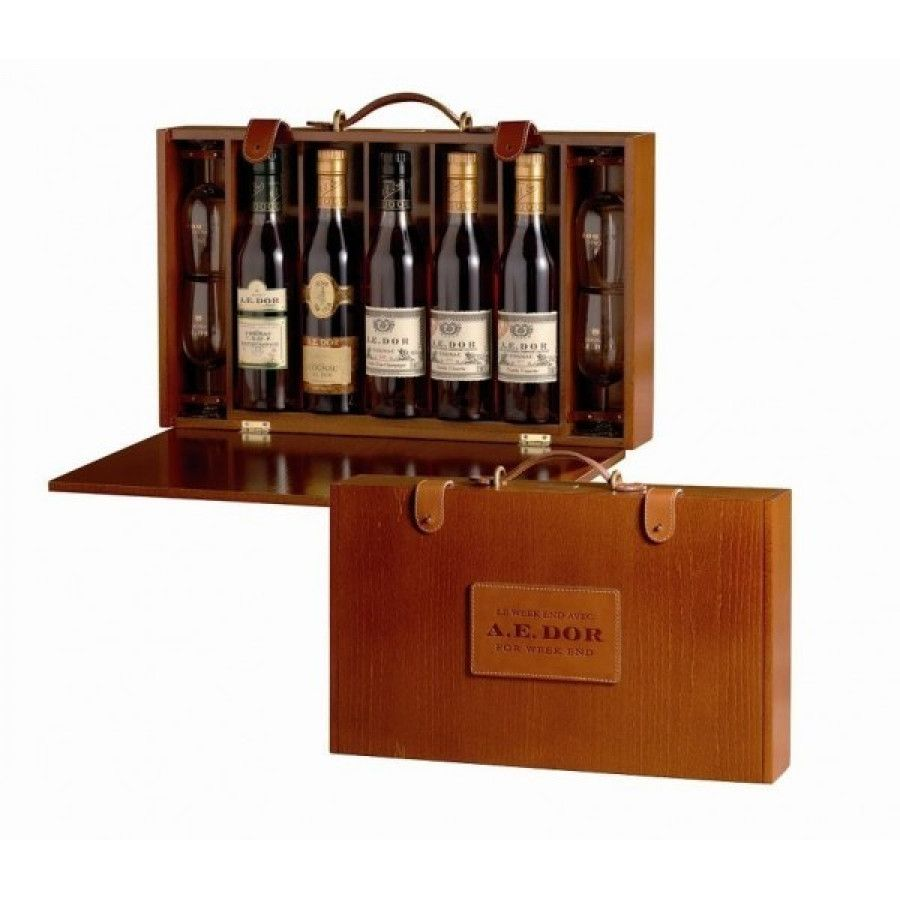 A.E. Dor Coffret Week End Set Cognac 01