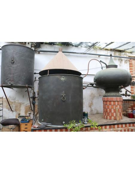 Alambic Charentais - Pot Still Guillard et fils 25hl 011