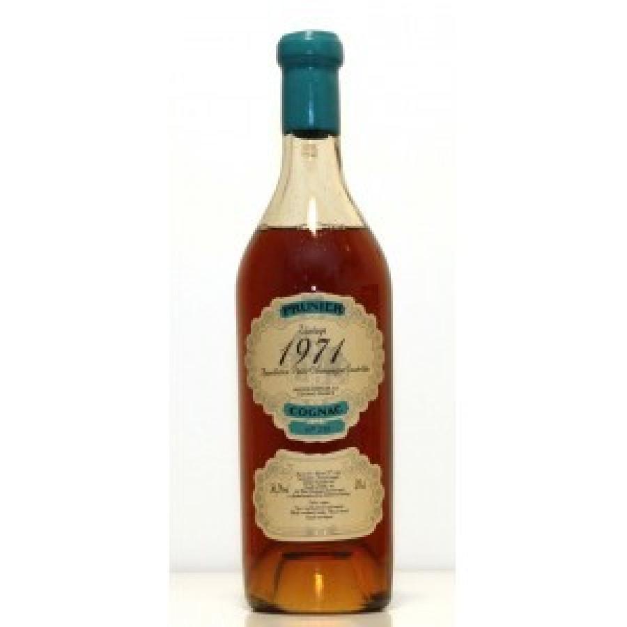 Prunier 1971 Millésime Petite Champagne Cognac 01
