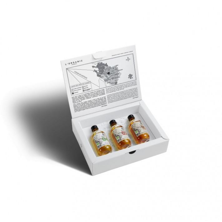 Pasquet Box l'Organic With 2 Glasses Cognac 01