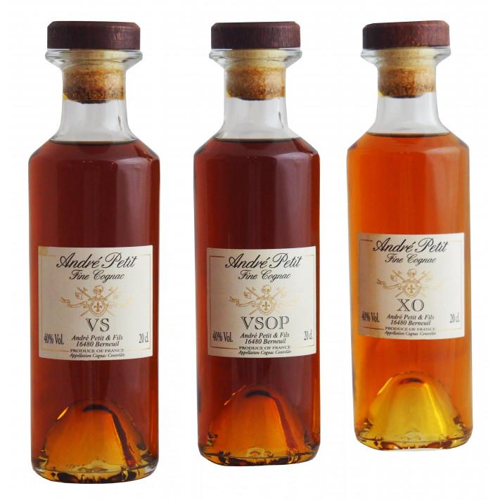 André Petit Cognac Tasting Set 01