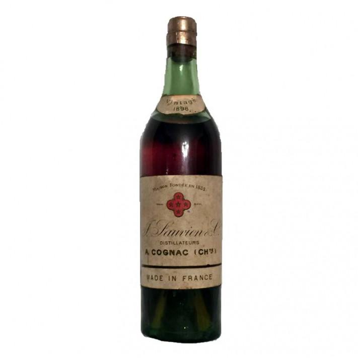 J. Sauvion & Co. Vintage 1896 Cognac 01