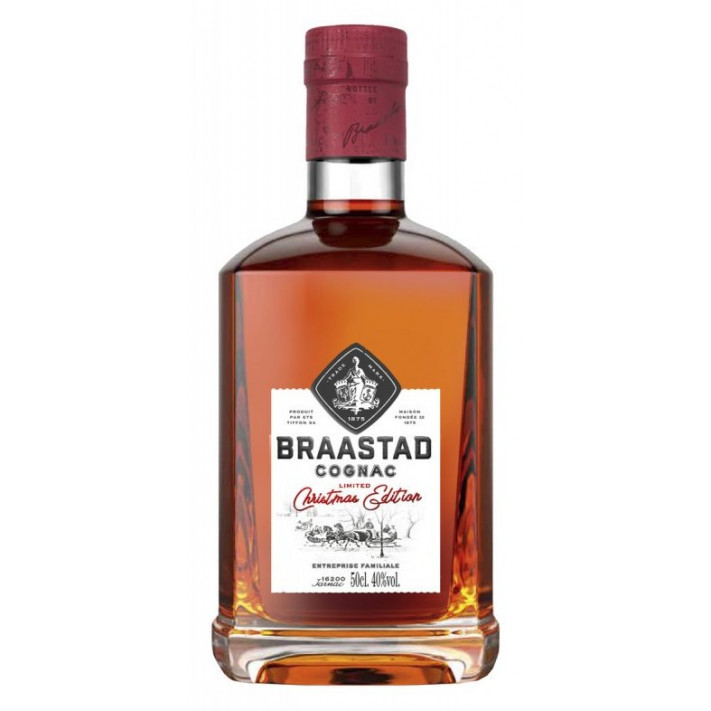 Braastad Christmas Limited Edition Cognac 01