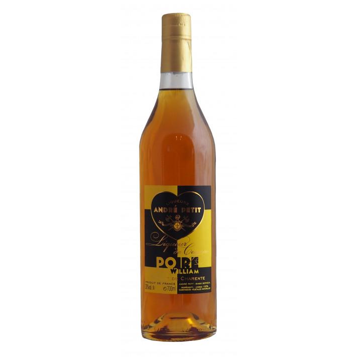 André Petit Poire William Liqueur de Cognac 01