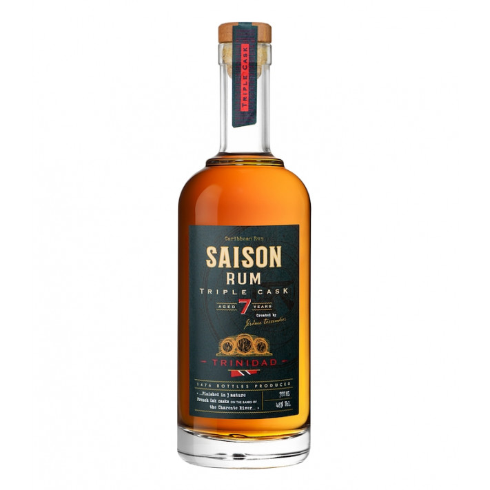 Distillerie Tessendier Season Triple Cask Rum - 7 years old 01