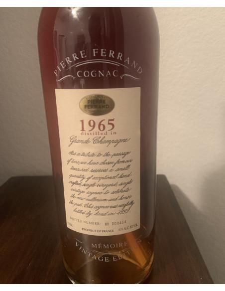 Pierre Ferrand Cognac 1965 Memoire Vintage Edition 08