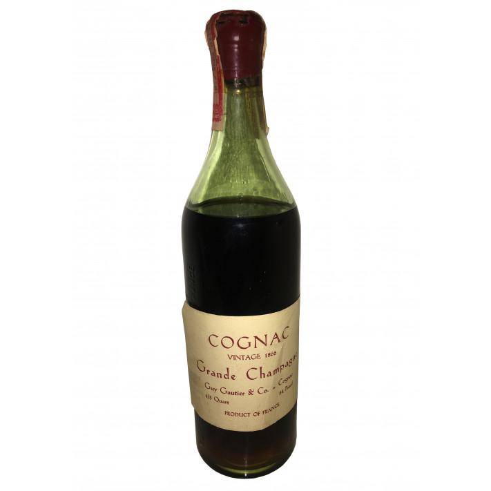 Guy Gautier & Co. Grande Champagne Vintage 1865 01