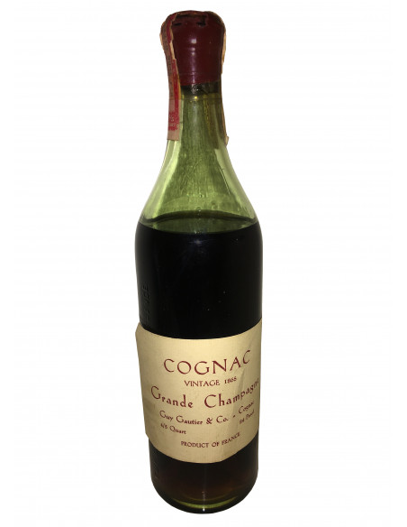 Guy Gautier & Co. Grande Champagne Vintage 1865 07