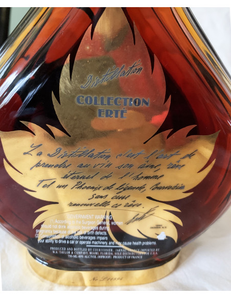 Courvoisier Collection Erte No.3  Distillation Cognac 1988 010