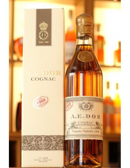 AE Dor 1968 Vintage Petite Champagne Cognac 04