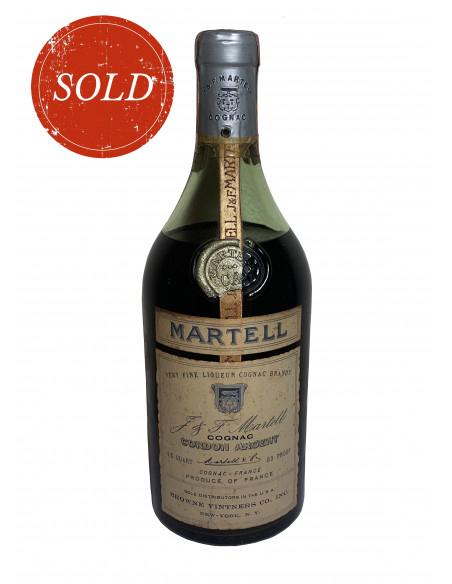 Martell Cordon Argent 1960 very fine Liqueur Cognac Brandy 05