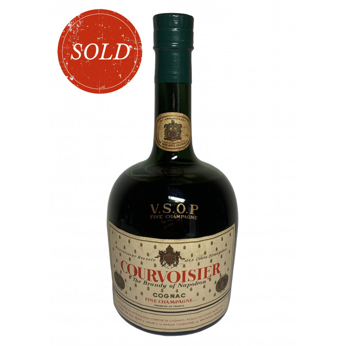 Courvoisier The Brandy of Napoleon V.S.O.P Fine Champagne Cognac 1960 01