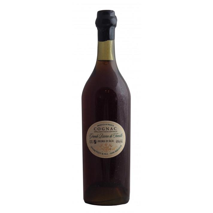 André Petit Hors d'Age Réserve Familiale 35cl Limited Edition Cognac 01