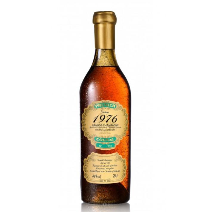 Prunier Vintage 1976 Grande Champagne Cognac 01