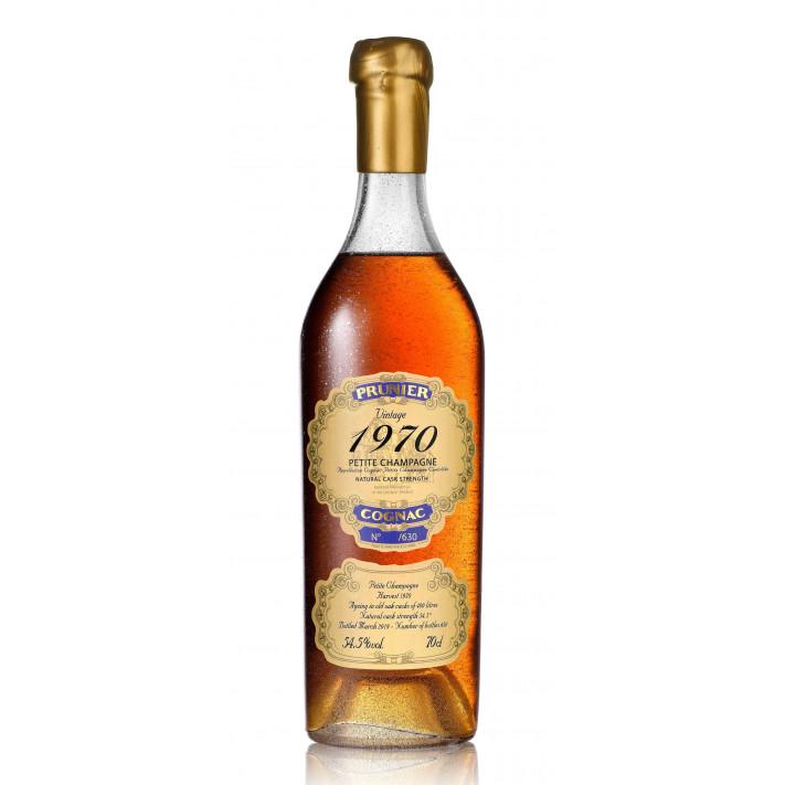 Prunier Vintage 1970 Petite Champagne Cognac 01