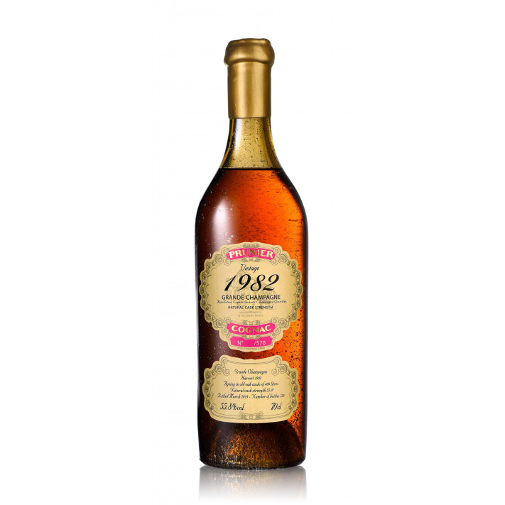 Prunier Vintage 1982 Grande Champagne Cognac 01