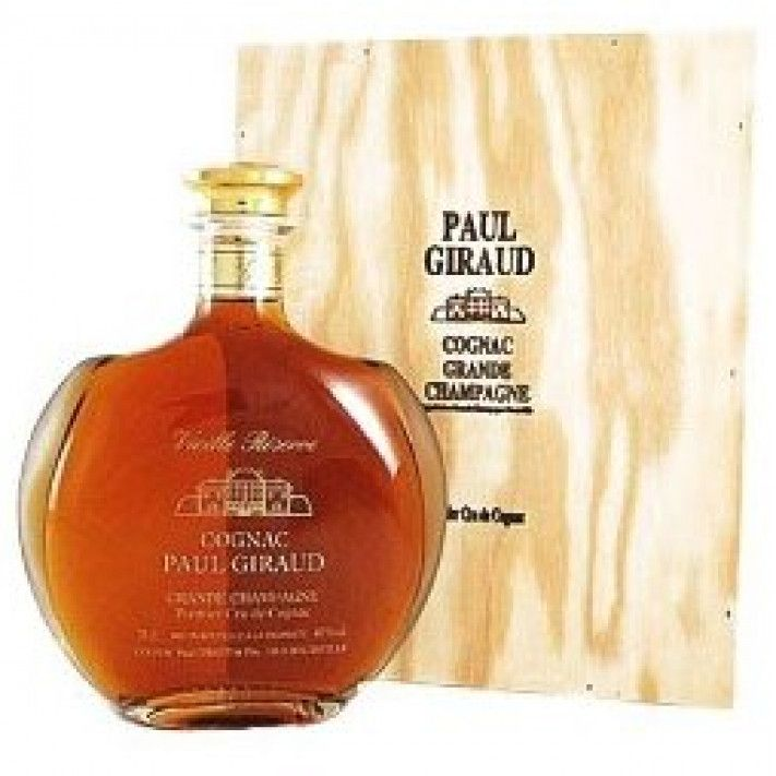 Paul Giraud Vieille Reserve Decanter Cognac