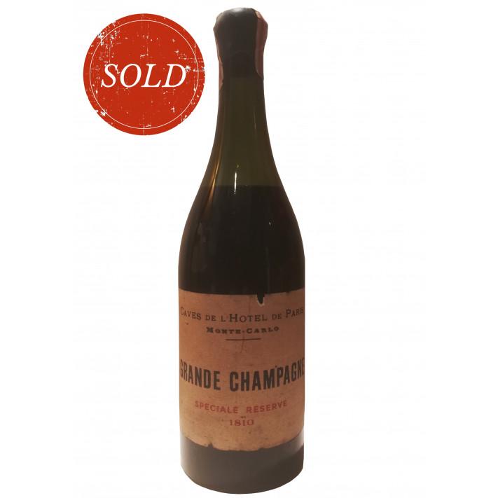 Caves de l'Hotel de Paris Monte Carlo Grande Champagne Speciale Reserve 1810 01
