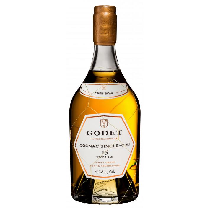 Godet Single-Cru Fins Bois 15 Years Old Cognac 01