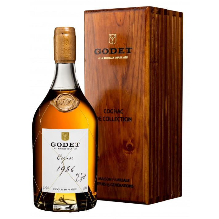 Godet Millésime Fins Bois 1986 Cognac 01