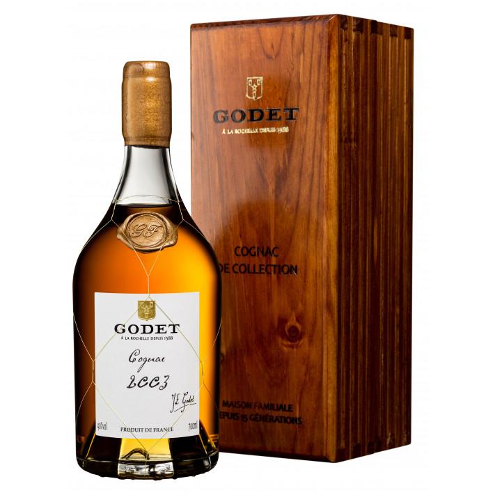 Godet Millésime Petite Champagne 2003 Cognac 01