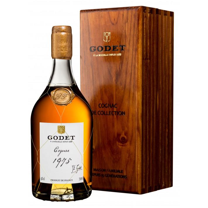 Godet Millésime Petite Champagne 1975 Cognac 01