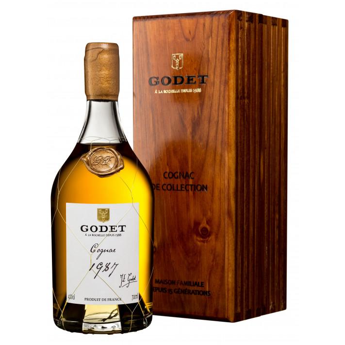 Godet Millésime Fins Bois 1987 Cognac 01