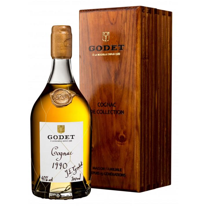 Godet Millésime Grande Champagne 1990 Cognac 01