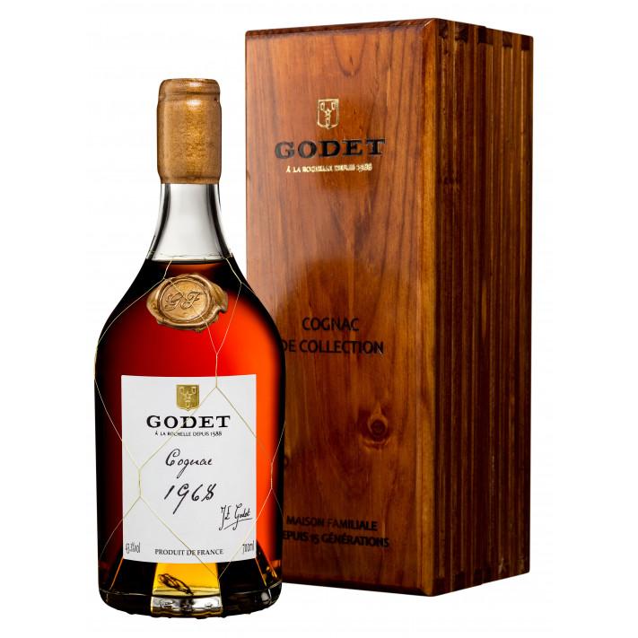 Godet Millésime Fins Bois 1968 Cognac 01