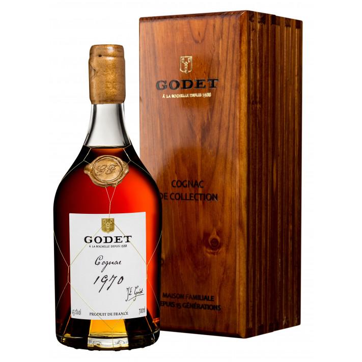 Godet Millésime Petite Champagne 1970 Cognac 01