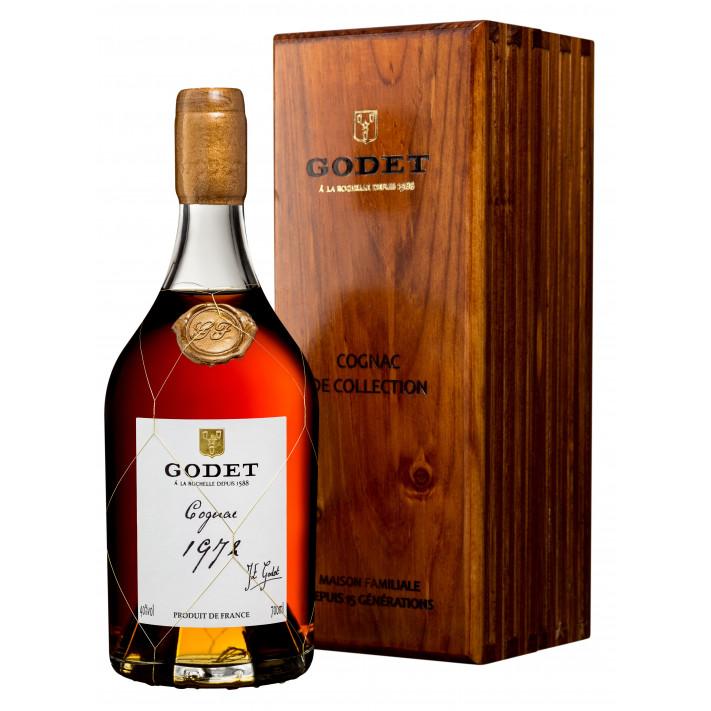Godet Millésime Petite Champagne 1972 Cognac 01