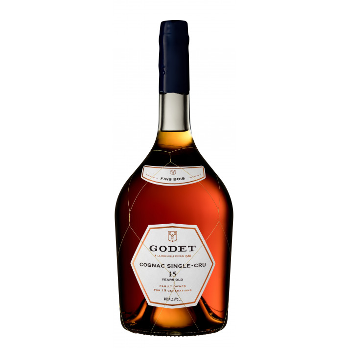 Godet Magnum Single-Cru Fins Bois 15 Years Old Cognac 01