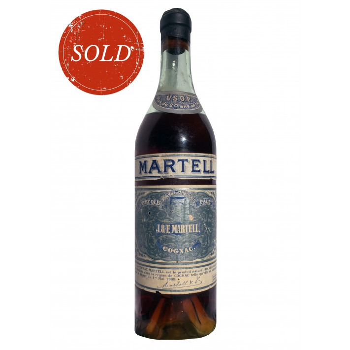 J & F Martell VSOP Cognac 1909 01
