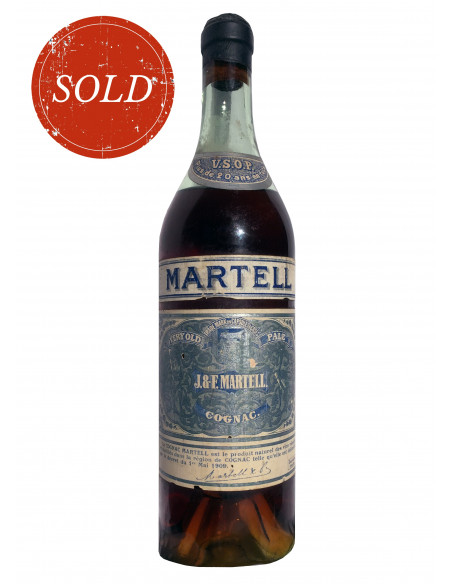 J & F Martell VSOP Cognac 1909 06