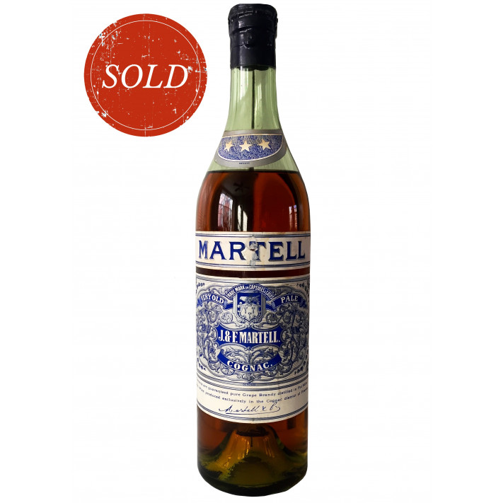 Martell Very Old Pale Cognac 1960s 01