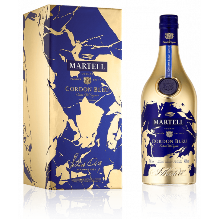 Martell Cordon Bleu XO Limited Edition by Mathias Kiss Cognac with Box 01