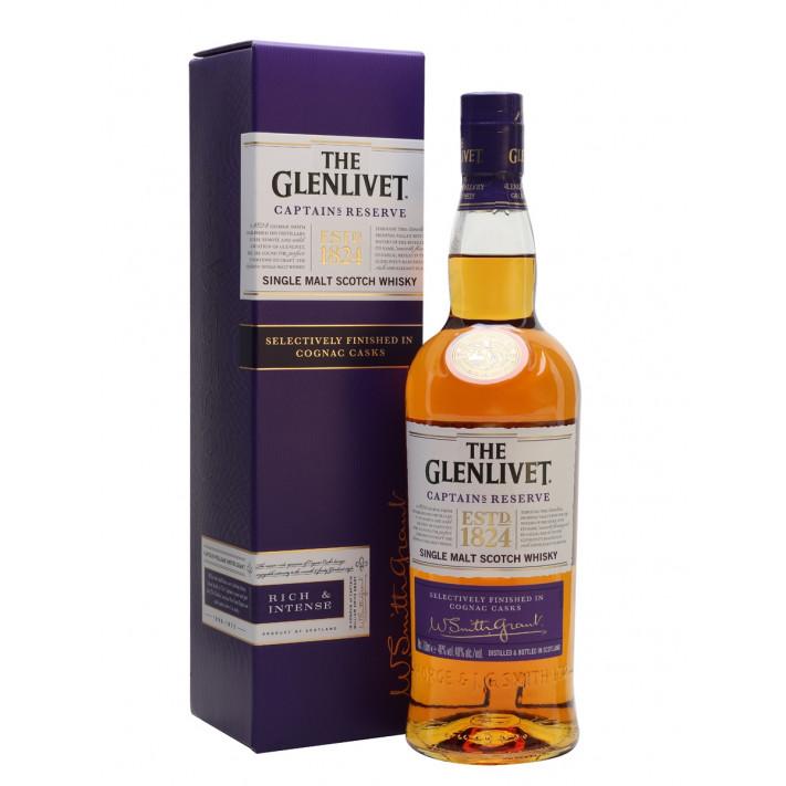 Glenlivet Captain's Reserve Single Malt Scotch Whisky 01
