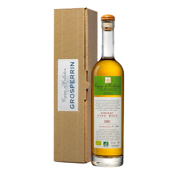 Grosperrin Millesime 2001 Fins Bois Organic Cognac 01