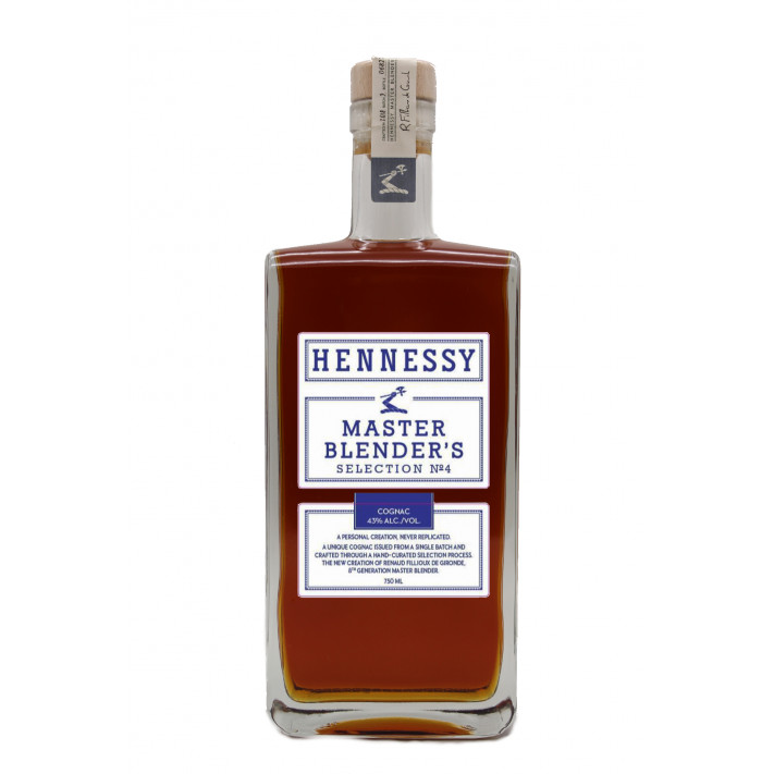 Hennessy Master Blender's Selection No. 4 Limited Edition Cognac 01