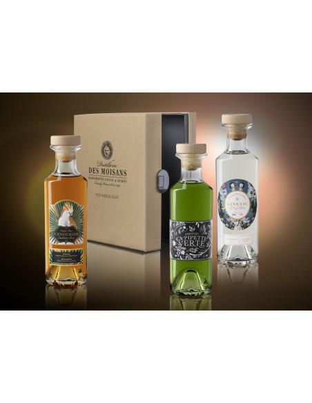 Tasting Box : Ginetic Gin, Canoubier Rum, La Pipette Verte Absinthe 04