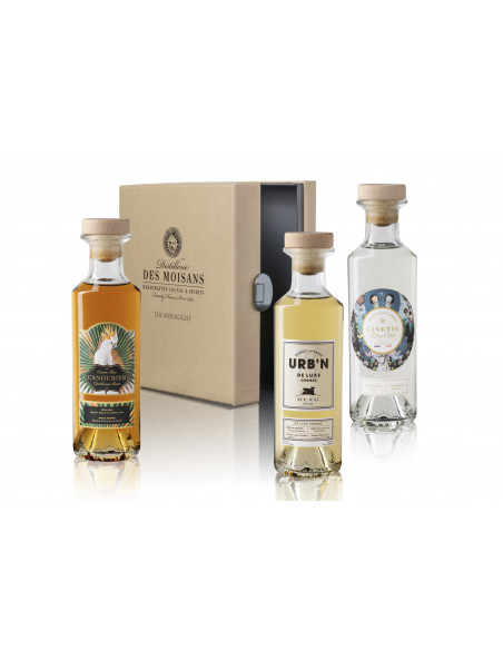 Tasting Box Mixologist : Ginetic Gin, Canoubier Rum, Deau URB'N 03