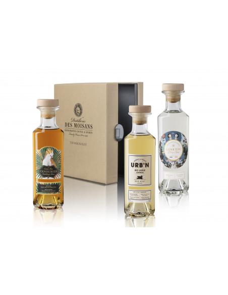 Tasting Box Mixologist : Ginetic Gin, Canoubier Rum, Deau URB'N 03