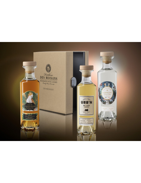 Tasting Box Mixologist : Ginetic Gin, Canoubier Rum, Deau URB'N 04