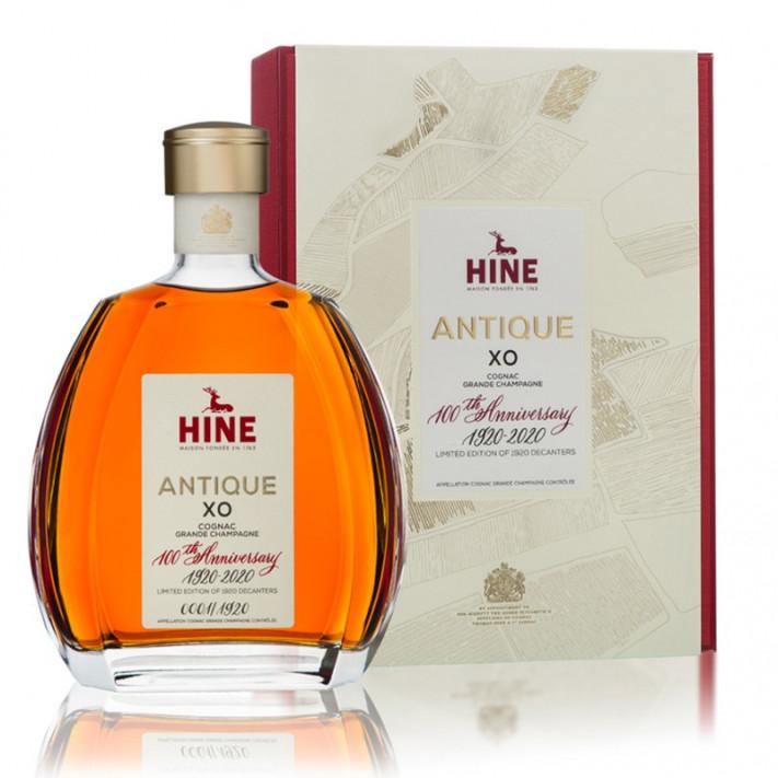 Hine Antique XO 100th Anniversary Grande Champagne Cognac 01
