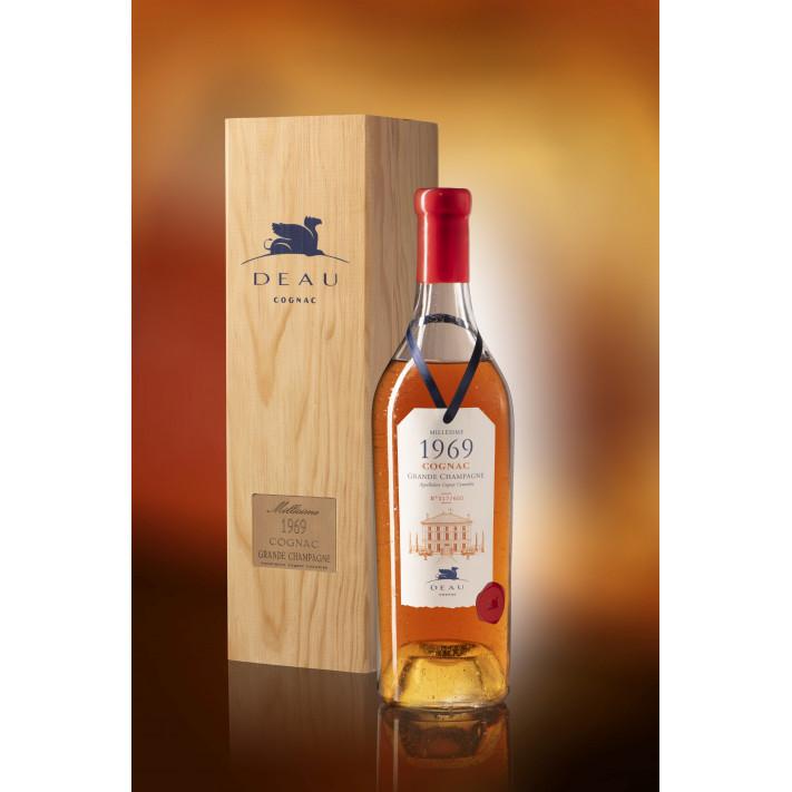 Deau Vintage 1969 Grande Champagne Cognac 01