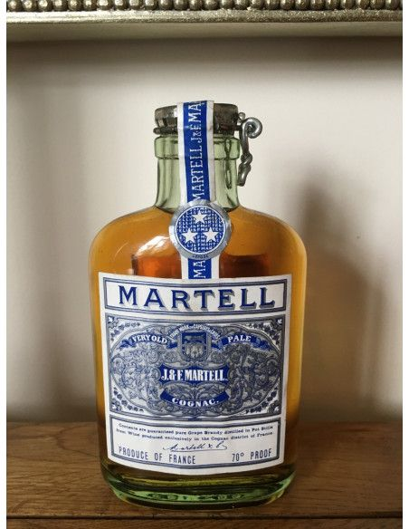 J&F Martell Very Old Pale Ale Flask 09