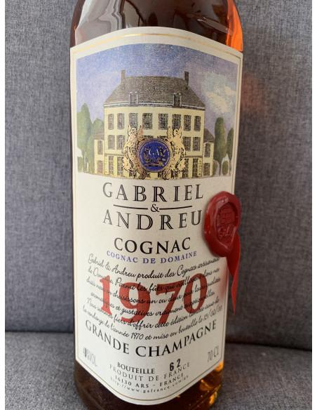 Gabriel & Andreu Cognac De Domaine 1970 010