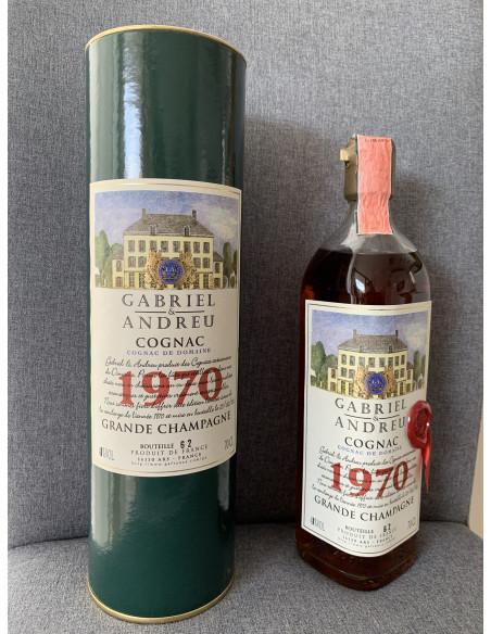Gabriel & Andreu Cognac De Domaine 1970 012